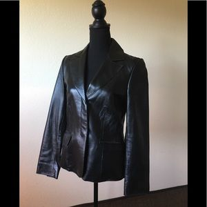 Jackets & Blazers - Vintage GUESS leather jacket! Excellent condition!